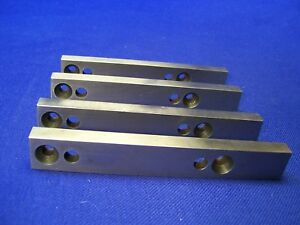 Matched Set Of 4 Precision Hardened Parallel Machinist Set Up Blocks 5 x1 x7