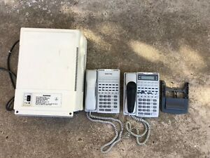 Panasonic Vb 42050 Key Service Unit 824 Phone System Pbx With Dbx Phones