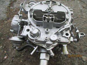 1980 1985 Buick Riviera gm Four Barrel Carburetor 307 V8 Gm Oem