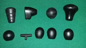 Knob Set Ih International 584 684 Tractor Shift Pto Lift Draft 1 2 Throttle