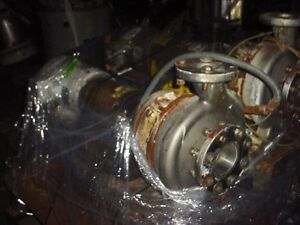 4 X 3 10 Inch 316 Stainless Steel Centrifugal Pump 300 Gpm 60 Ft Hd Labour