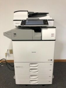 Ricoh Mp 3554 All in one Copy print scan With Only 215 Impressions