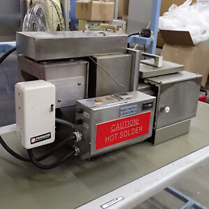 Exselect Wave Solder Machine Wave Dipper W Solder Like Electrovert Pillarhouse