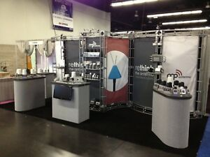 Oribital Truss Phoenix Trade Show Display Booth 10 X 20