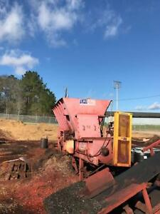 Amerimulch Colorizer With Radial Stacker forestry sawmill