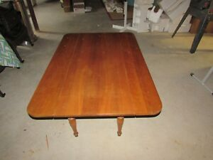 Harden Furniture Solid Cherry 2 Drop Leaf Coffee Table Local Pick Up 54x36x17