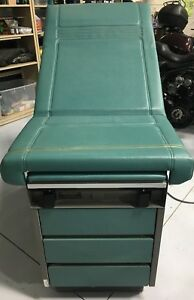 Ritter 104 Medical Exam Table Bed Adjustable Green