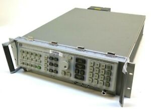 Hp 8566b 100hz 2 5ghz 2 22ghz Low Frequency Band Industrial Spectrum Analyzer