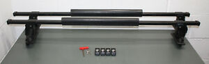 Thule Roof Rack 50 Square Load Bars Aero Foot Towers 124 Key And Lock Cores