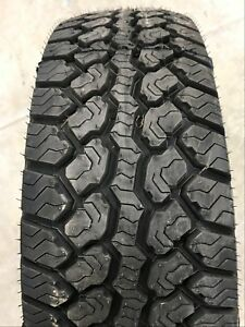 New Tire 265 70 16 Motomaster Total Terrain At 2 All Terrain 112t Owl P265 70r16