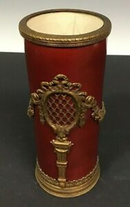 Sevres Red Flambe Vase By Paul Milet