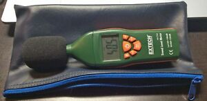 Extech Sound Level Meter backlit Lcd Display 407732
