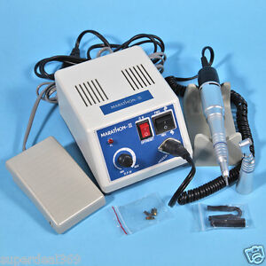 Hot Dental Lab Electric Marathon Micromotor Polisher N3 Low Speed Handpieces