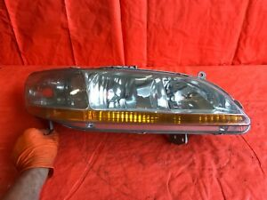 Oem 1998 98 1999 99 2000 00 Honda Accord Passenger Right Headlight Headlamp R Rh
