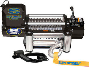 Superwinch 1510200 Winch Lp10000 Fits Most Any 4x4 Vehicle 10 000 lb Line