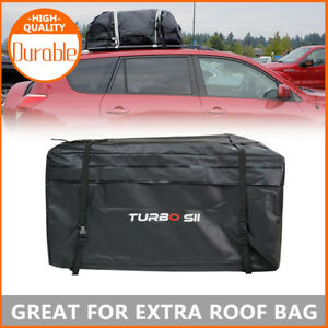 Soft Top Roof Cargo Carrier Cargo Bag Travel Space W 20 cu ft Storage Capacity