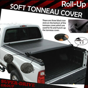 5 7ft Soft Lock Tonneau Cover 09 17 Dodge Ram1500 2500 3500 Truck Short Bedcover