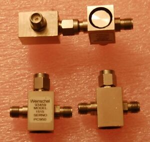 Weinschel 1515 Resistive Power Divider sma Dc 18 Ghz Lot Of 4