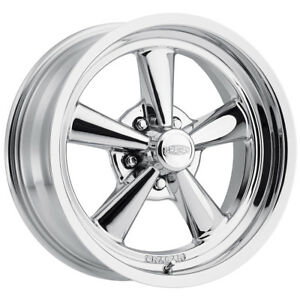 1 New 17x7 Cragar 610c G T Chrome Wheel Rim 06 5x4 50