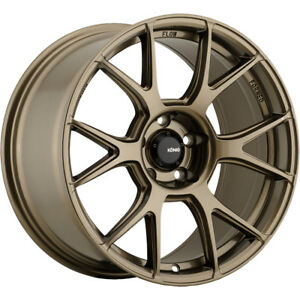 4 New 19x8 5 Konig 56bz Ampliform Wheels Rims 32 5x120
