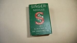 917a Vtg Sewing Machine Singer Parts Parcel Box 88 X 11 11 Ball Point Needles