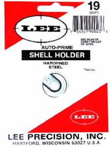 LEE 90023 #19 AUTO PRIME HAND PRIMING TOOL SHELL HOLDER (SHIPS WITHIN 24 HOURS)