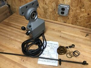 Servo Type 40 Power Feed For Milling Machine Excellent Clean Condition