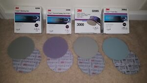 3m Trizact 6in Discs 1000 1500 3000 5000 2 Sheets Of Each 8 Total free Shipping