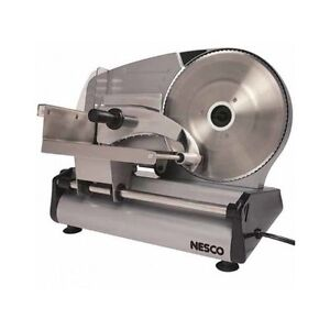 Professional Food Slicer Deli Meat Stainless Electric Machine Cheese Heavy Duty