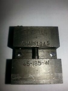 Ohaus 45-185-W Bullet mold
