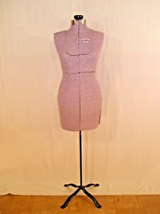 Vintage L m Acme Adjustable Form Co Brooklyn N y Dress Form Size b