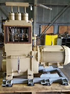Weatherford Kobe Triplex Pump Size 4 15000 30000 Psi 3 97 Gpm 150 Hp