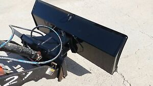 New 52 4 Way Dozer Blade Plow For Mini Skid Steer Fits Dingo Ditch Witch