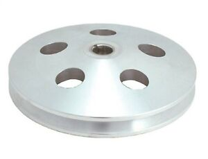 Spectre Performance 4489 Power Steering Pump Pulley Chrome Plated Steel