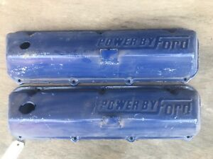Ford 429 460 Valve Covers Original Oem Powered By Ford Big Block