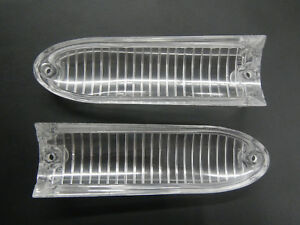 1961 Buick Lesabre Invicta Electra Turn Signal Lenses Parking Lamp Lens 61 Pair