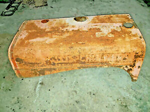Allis Chalmers Wd Wc Wf Tractor Original Engine Hood Cover Ac Hood Sheet Metal
