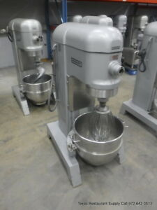 Hobart H 600t Pizza Donut Pizza Dough Mixer 60 Qt W Bowl Whisk