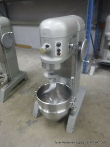 Hobart H 600t Pizza Donut Pizza Dough Mixer 60 Qt W Bowl Hook