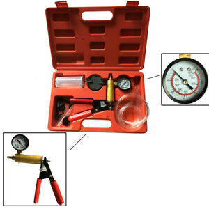 Car Motorcycle Brake Fluid Bleeder With Adaptor Garage Tool Tester