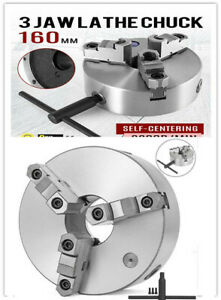 K11 160 400 Mm 3 Jaw Self Centering Lathe Chuck With Key