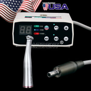 Nsk Style Dental Led Brushless Electric Micro Motor 1 5 Increasing Handpiece