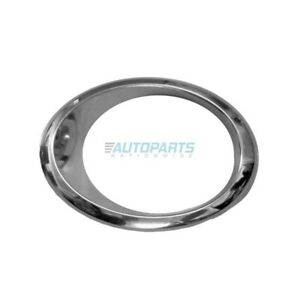 New Left Side Fog Light Trim Ring Chrome Fits 2013 2016 Ford Fusion Fo1038131