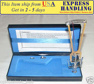 Riester Schiotz Tonometer For Optometry With Case User Manual Free Shipping