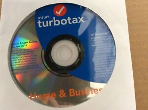 Turbotax Home Business State 2018 Fed Efile Pc mac Disc
