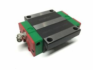 Hiwin Hgw20cc Linear Ball Bearing Carriage Slide Block Flange Type For 20mm Rail