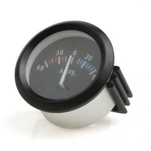2 52mm 12v 60 0 60 Amp Auto Ammeter Gauge Meter For Car Boat Truck Atv