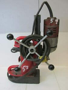 Milwaukee 4201 Magnetic Drill Press 12 5a 120v 60hz 44348isu