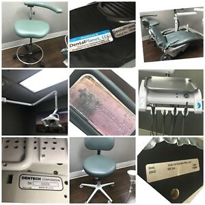 Lot 5 Healthco Celebrity Dental Chairs W Lights Dentech Deliveries