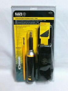 Klein Tools Cushion grip Impact 110 66 Cut Punch Down Tool Kit Vdv427 822